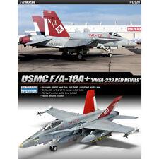 ACADEMY #12520 /72 Plastic Model Kit USMC F/A-18A+ VMFA-232 RED DEVILS