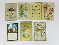 Early 1900s POSTCARDS HOLIDAY NEW YEARS THANKSGIVING EASTER GREETINGS LOT - 86