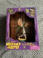 "RARE Gemmy Halloween Animated Door Greeter Werewolf Sings ""I'm Your Boogie Man"""