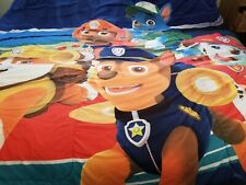 Nickelodeon PAW PATROL Child's Reversible Twin Bed Comforter and Sheet Set