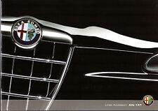 ALFA ROMEO 147 ACCESSORI 2008-10 UK vendite sul mercato opuscolo