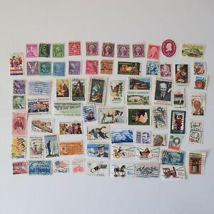 Old USA United States of America Postage Stamps - Presidents Bundle Lot Set 547