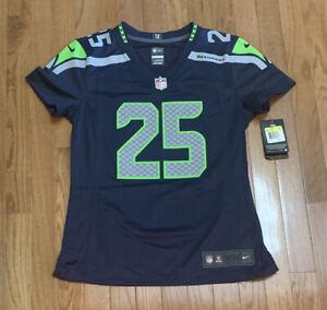 Richard Sherman #24 Seattle Seahawks Nike Women's Game Jersey NWT Small