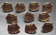 Lot of 10x Quebec Canada Techniques Policieres Cegep Police Pins / Badges