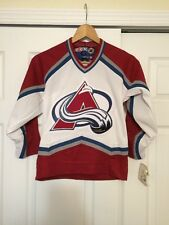NWT COLORADO AVALANCHE JERSEY CCM YOUTH S/M Small Medium New NHL VINTAGE