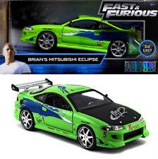 1995 Mitsubishi Eclipse Fast and the Furious Brian Grün 1:24 Jada Toys 97603
