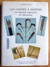 Les cannes à système : un monde fabuleux et méconnu CATHERINE DIKE canes book