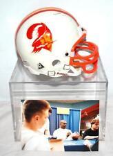 Errict Rhett #32 Signed Buccaneers Mini Replica Helmet in Display Case W/ PHOTO