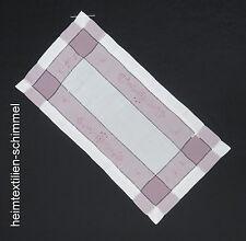 Lino mantel tischdeckchen centro de mesa tapetes mesa alfil lilas 35x70cm