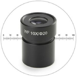 Euromex BE.6110 Eyepiece Hwf 10x/20 With Micrometer For BE.1802, BE.1812 &