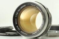 【EXC5+ w/ M Mount Adapter】 Canon 50mm f1.2 L39 Leica Screw mount Lens LTM Japan