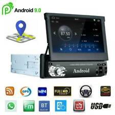 Single 1DIN 7inch Car Android 9.0 Touch Screen Stereo GPS BT WiFi FM Head Unit