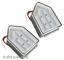 New 5 Function LED Rear Tail Trailer Car Caravan Lights Lamps Universal 12v x 2