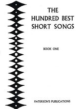 Hundred Best Short Songs Learn Sing ABRSM Vocal Choral Voice Music Book 1