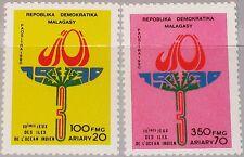 Madagascar Malagasy 1990 1269-70 983-84 idian Ocean Sport Games Emblem mnh