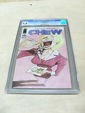 CHEW #3 / CGC 9.8 / 1st print / White Page - TV series ?