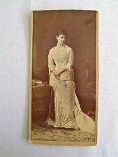 RARE SIGNED GRAND DUCHESSE MARIA PAVLOVNA/MECKLENBURG-SCHWERIN PHOTO FROM 1884