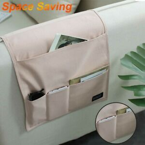 Pockets Sofa Chair Arm Rest Organiser Tray Armchair Caddy Storage Holder
