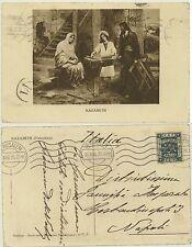 JERUSALEM -NAZARETH 1925 -PALESTINA -LA SACRA FAMIGLIA