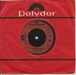 """The New Seekers - You Won't Find Another Fool Like Me 7"""" Vinyl Single 1973"""