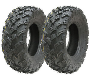 2 - Quad tyres 26x9-12 6ply ATV tires 7psi 26 9.00 12 E marked road legal tyres