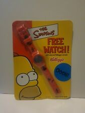 More details for the simpsons digital watch, new / sealed x 2 by kellogg's  c2002