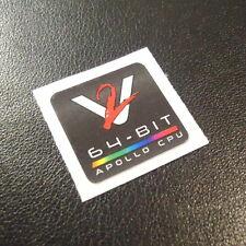 Commodore Amiga VAMPIRE 2 Label / Logo / Sticker / Badge 20x20mm [335d]