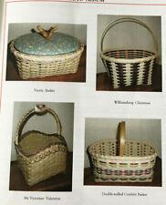 4 Basket Weaving Patterns Black Creek Country News Winter 98