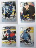 1995-96 BaP Signature Be a Player S8 Francis Ron  autograph  penguins