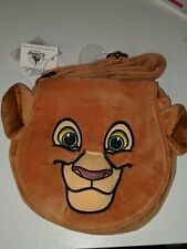 Disney Parks Lion King Simba Cross Body Bag Purse 8in Soft New with Tags