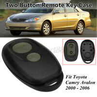 2 Button Car Remote Control Key Fob Case Shell For Toyota/Camry/Avalon  # +