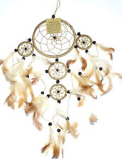 CAPTEUR DE REVE marron ATTRAPE ATTRAPEUR /DREAM CATCHER brown dreamcatcher