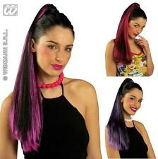 Ladies Black And Purple Coloured Hair Extension Piece - Pony Tail Ponytail