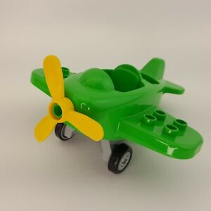 Duplo Lego Green Little Plane 10808 Replacement Piece Part