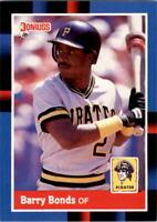 1988 Barry Bonds Donruss Baseball Card #326