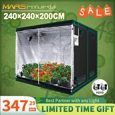 MarsHydro 240x240x200cm Grow Tent Growschrank Zuchtzelt Gewächshaus Zuchtschrank