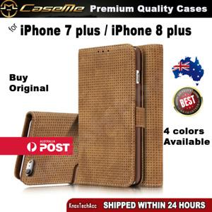 iPhone 8 plus Case, iPhone 7 plus Case Matteo Flip Wallet Cover Case