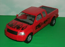 1/18 Scale Nissan Frontier Pickup Truck Plastic Model Extra Cab New Ray Toy Red