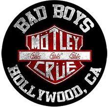 Más souvenirs de Mötley Crüe