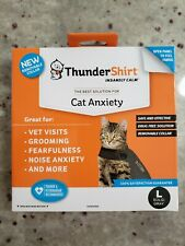 Thundershirt for Cat Anxiety - Gray, Large