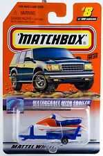 Matchbox #8 Watercraft With Trailer With MB 2000 Logo New On Card
