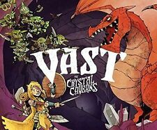 Vast The Crystal Cavern Board Game Strategy 1-5 Player NEW 2ed ready to ship