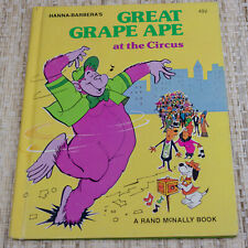 1976 Hanna-Barbera's Great Grape Ape at the Circus Book
