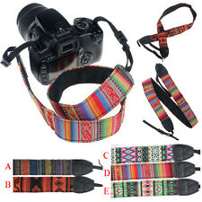 Universal SLR DSLR Camera Shoulder Neck Strap Belt For Canon ForNikon For Sony