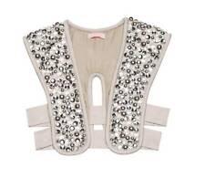 """SASS & BIDE """"Seasons Of Change""""  Embellished Vest - Size Medium / Large - $790"""