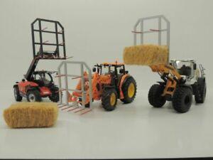 Ballenspieß Zubehör Wiking  1:32 Bausatz (Farmworld Eigenbau)
