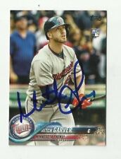 Minnesota Twins MITCH GARVER Signed 2018 Topps Series 2 card #540