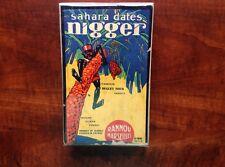 Rare Sahara Dates Box Black Americana Early 1900's ?