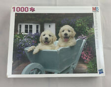 1000 Piece Labador Jigsaw By MB Puzzles - New Sealed !!!