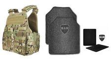 Body Armor | Bullet Proof Vest | AR500 Steel Plates Base Coat 10x12 6x8 MCAM